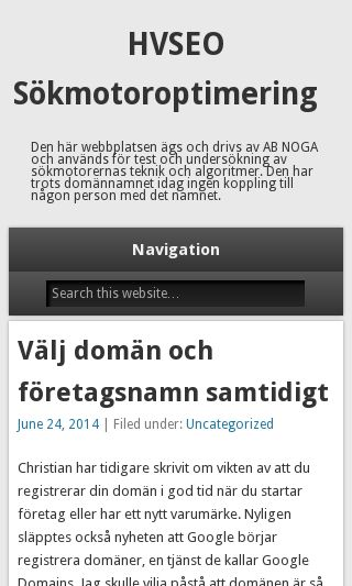 Mobile preview of henrikvonsydow.se