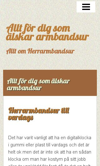 Mobile preview of herrarmbandsur.se