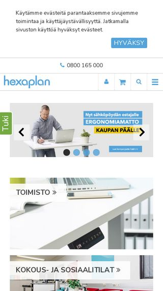 Mobile preview of hexaplan.fi