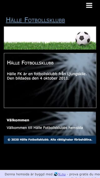 Mobile preview of hfk.n.nu