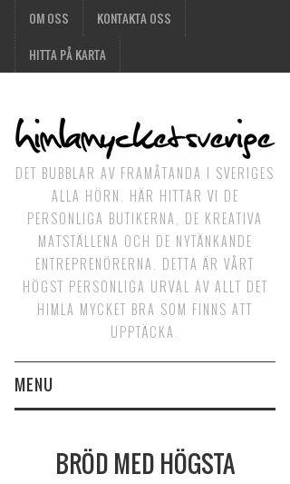 Mobile preview of himlamycketsverige.se