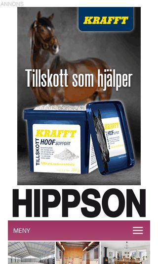 Mobile preview of hippson.se