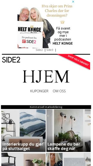 Mobile preview of hjem.side2.no