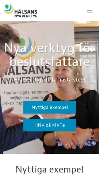 Mobile preview of hnv.se