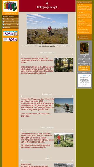 Mobile preview of holmgangens-pytt.se