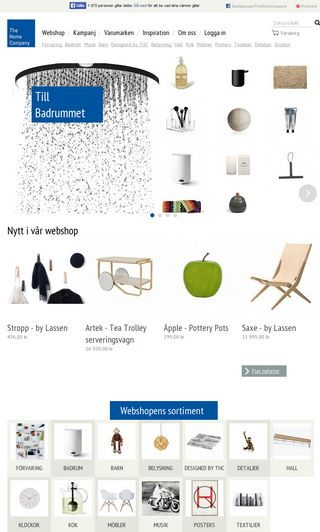 Mobile preview of homecompany.se