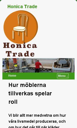 Mobile preview of honicatrade.se