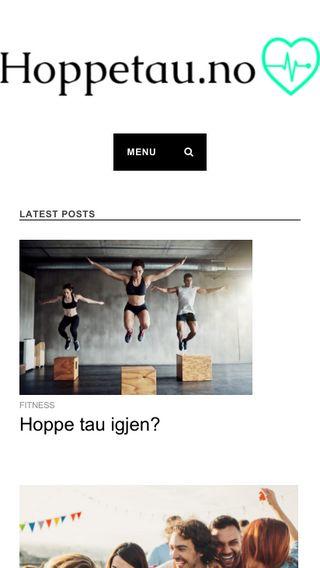 Mobile preview of hoppetau.no