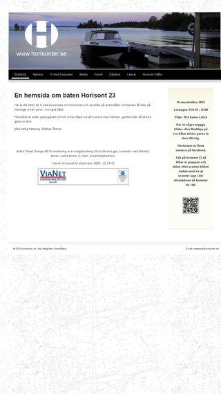 Mobile preview of horisonter.se