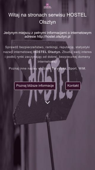 Mobile preview of hostel.olsztyn.pl