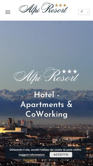 Mobile preview of hotelalpiresort.it