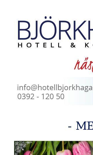 Mobile preview of hotellbjorkhaga.se
