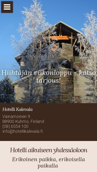 Mobile preview of hotellikalevala.fi