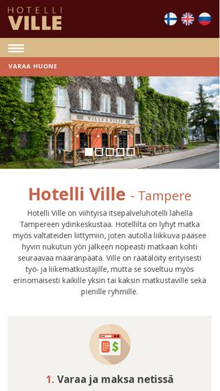 Mobile preview of hotelliville.fi