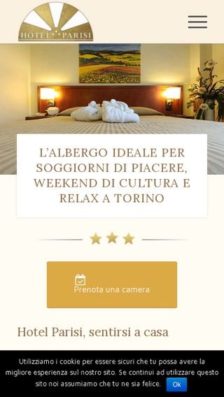 Mobile preview of hotelparisi.it