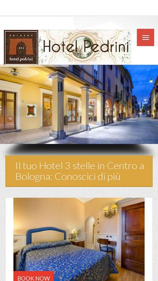 Mobile preview of hotelpedrini.it