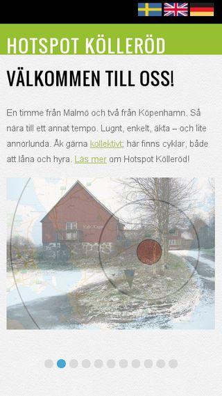 Mobile preview of hotspotkollerod.se
