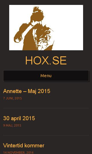 Mobile preview of hox.se