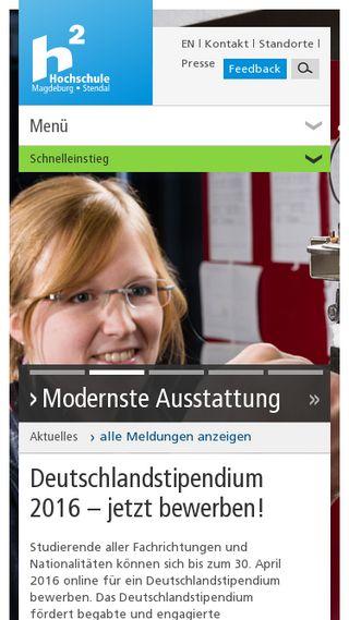Mobile preview of hs-magdeburg.de