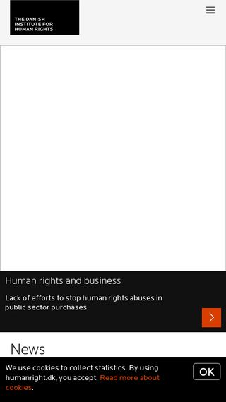 Mobile preview of humanrights.dk