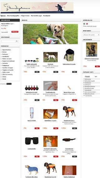 Mobile preview of hundsystrarna.se