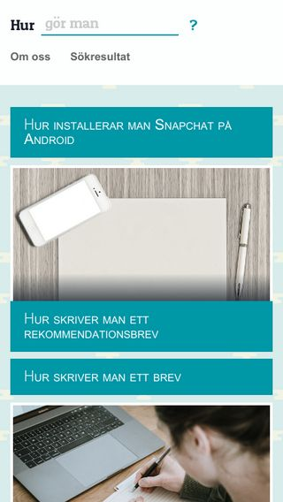 Mobile preview of hur.se