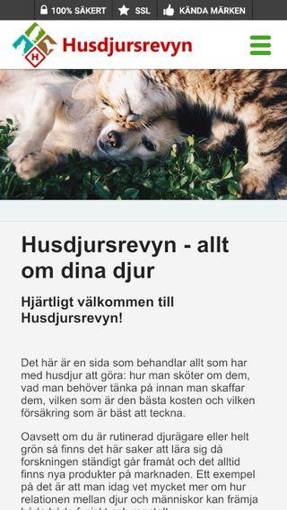 Mobile preview of husdjursrevyn.se