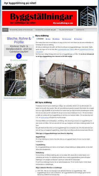 Mobile preview of hyrastallning.n.nu