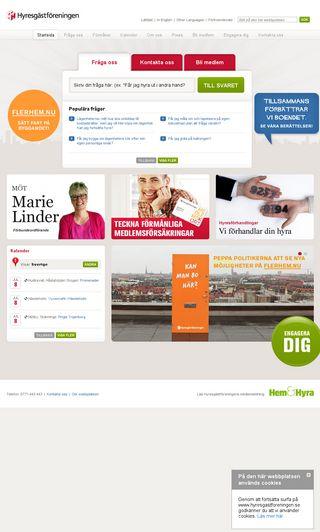 Mobile preview of hyresgastforeningen.se