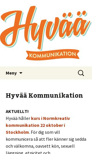 Mobile preview of hyvaa.se