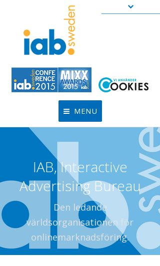 Mobile preview of iabsverige.se
