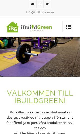 Mobile preview of ibuildgreen.se
