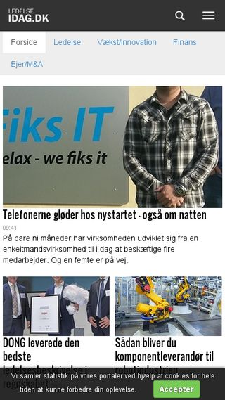 Mobile preview of idag.dk