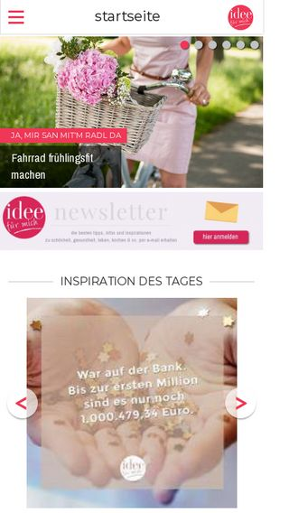 Mobile preview of idee-fuer-mich.de