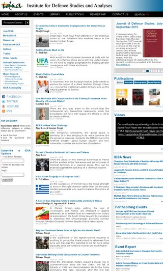 Mobile preview of idsa.in