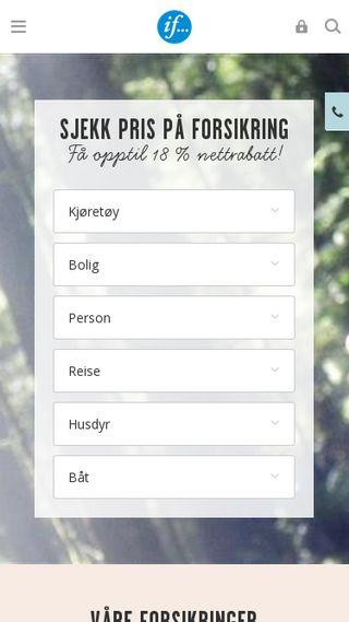 Mobile preview of banktjenester.com