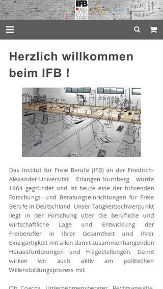 Mobile preview of ifb.uni-erlangen.de