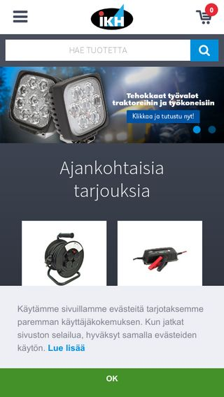 Mobile preview of ikh.fi
