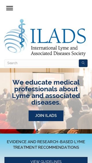 Mobile preview of ilads.org