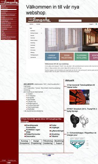 Mobile preview of ilmonte.se