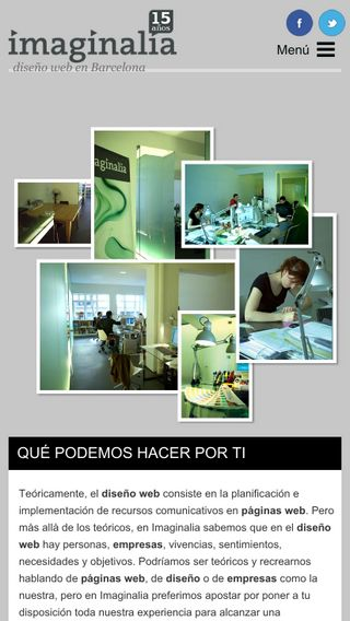 Mobile preview of imaginalia.es
