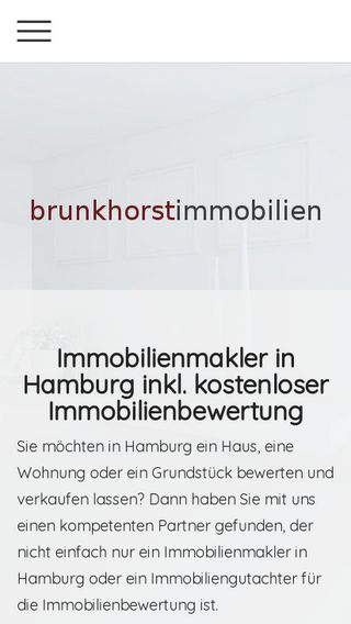Mobile preview of immobilienbewertungen.hamburg