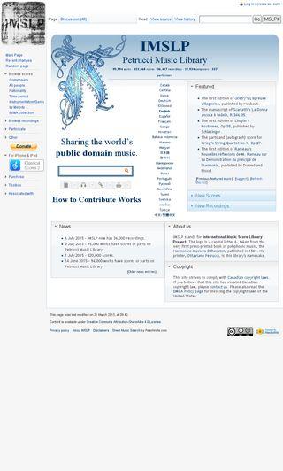 imslp org | Domainstats com