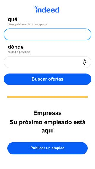 Mobile preview of empleobueno.com