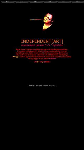 Mobile preview of independentart.se