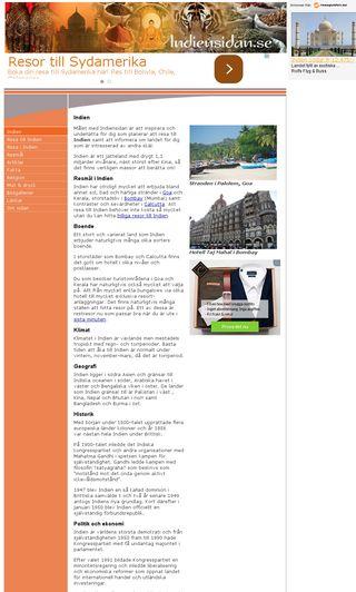 Mobile preview of indiensidan.se