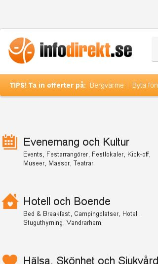Mobile preview of infodirekt.se