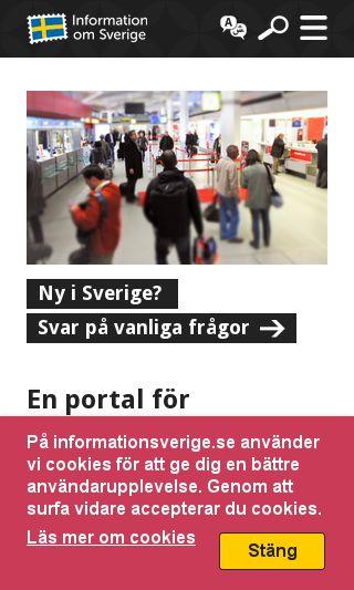 Mobile preview of vagentilljobben.se
