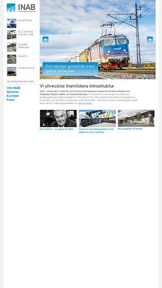 Mobile preview of infrastrukturiumea.se