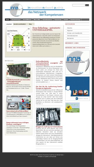 Mobile preview of inna.at